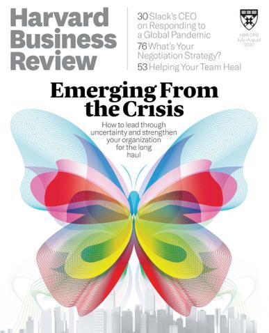 Harvard Business Review Magazine July 1st, 2020 Issue Cover