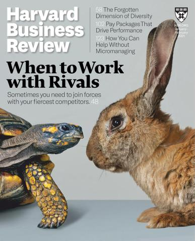 Harvard Business Review Magazine January 1st, 2021 Issue Cover