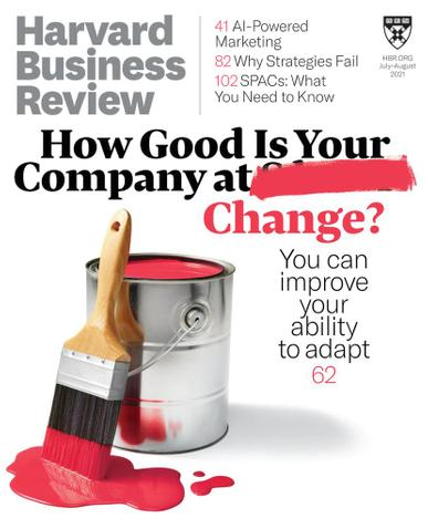 Harvard Business Review Magazine July 1st, 2021 Issue Cover