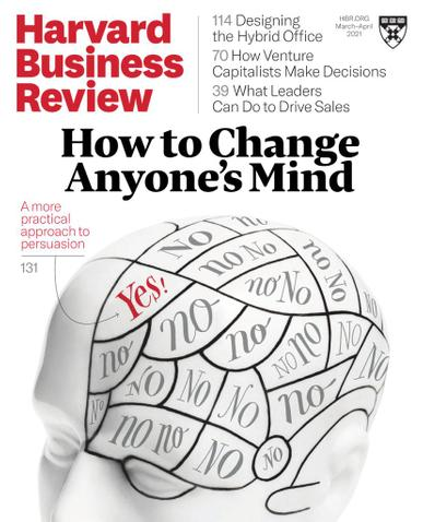 Harvard Business Review Magazine March 1st, 2021 Issue Cover