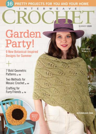 Interweave Crochet Magazine May 14th, 2020 Issue Cover