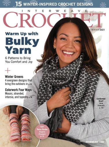 Interweave Crochet Magazine November 12th, 2020 Issue Cover