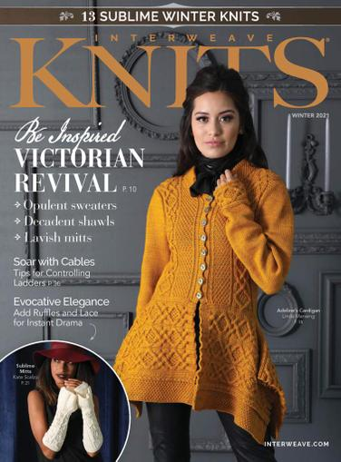 Interweave Knits Magazine October 22nd, 2020 Issue Cover