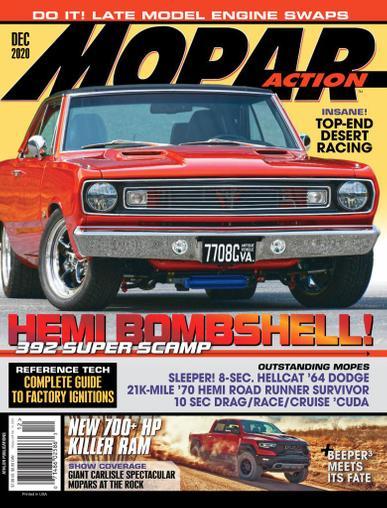 Mopar Action Magazine December 1st, 2020 Issue Cover