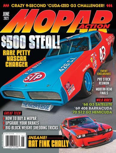 Mopar Action Magazine June 1st, 2021 Issue Cover