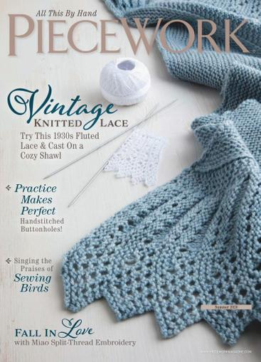 Piecework Magazine March 1st, 2020 Issue Cover