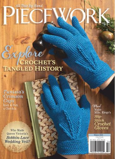 Piecework Magazine October 1st, 2020 Issue Cover