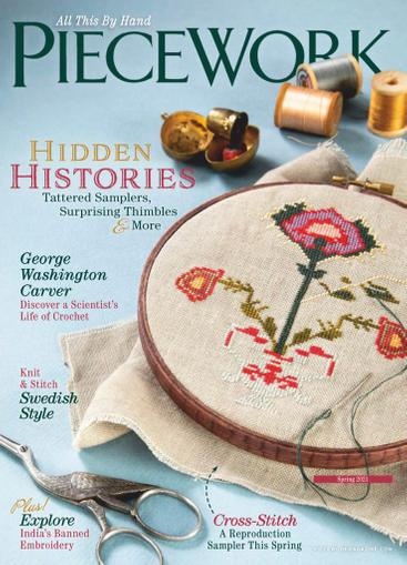 Piecework Magazine January 1st, 2021 Issue Cover