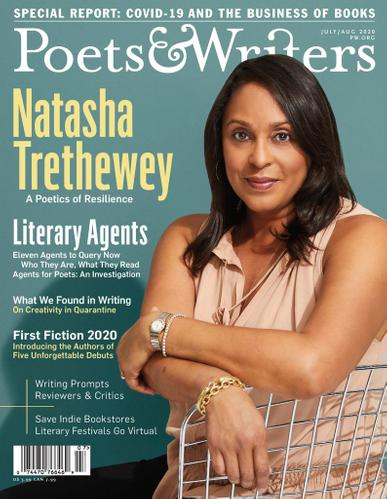 Poets & Writers Magazine July 1st, 2020 Issue Cover