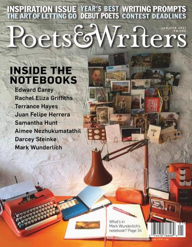 Poets & Writers Magazine January 1st, 2021 Issue Cover