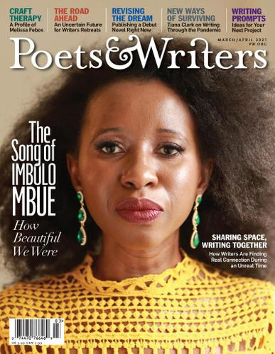 Poets & Writers Magazine March 1st, 2021 Issue Cover