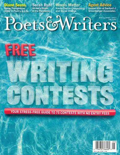 Poets & Writers Magazine May 1st, 2021 Issue Cover