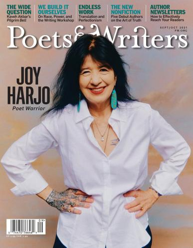 Poets & Writers Magazine September 1st, 2021 Issue Cover