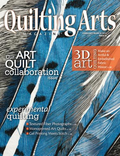 Quilting Arts Magazine January 25th, 2012 Issue Cover