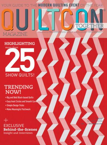Quilting Arts Magazine January 28th, 2021 Issue Cover