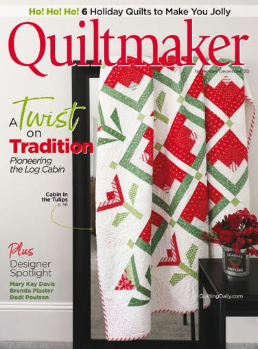 Quiltmaker Magazine November 1st, 2020 Issue Cover