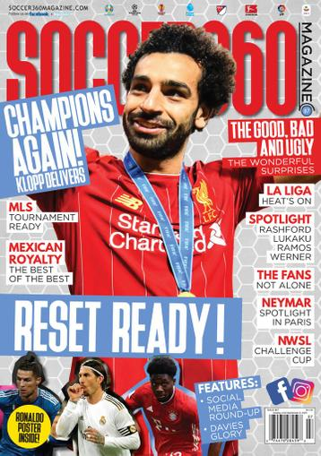 Soccer 360 Magazine July 1st, 2020 Issue Cover