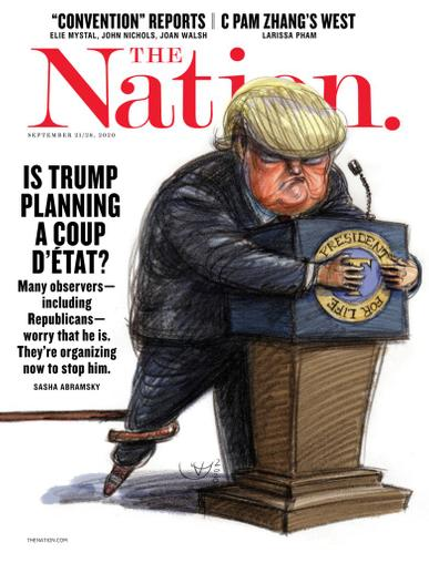 The Nation Magazine September 21st, 2020 Issue Cover