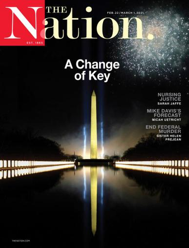 The Nation Magazine February 22nd, 2021 Issue Cover