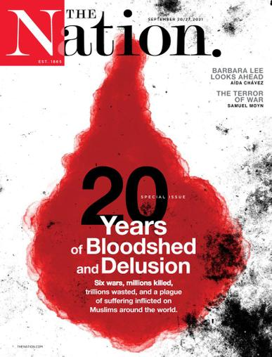 The Nation Magazine September 20th, 2021 Issue Cover