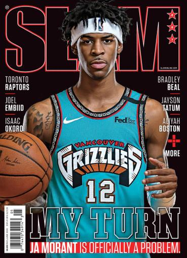 Slam Magazine May 1st, 2020 Issue Cover