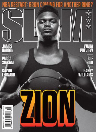 Slam Magazine September 1st, 2020 Issue Cover