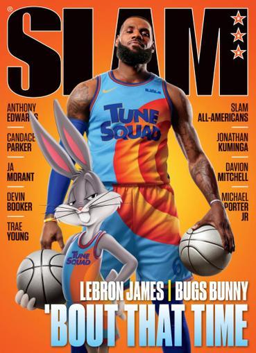 Slam Magazine August 1st, 2021 Issue Cover