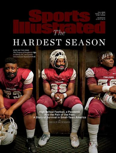 Sports Illustrated Magazine December 1st, 2020 Issue Cover