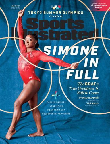 Sports Illustrated Magazine July 15th, 2021 Issue Cover