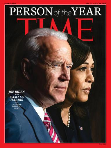 Time Magazine December 21st, 2020 Issue Cover