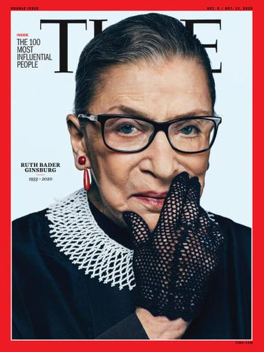 Time Magazine October 5th, 2020 Issue Cover