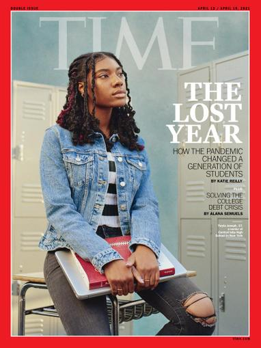 Time Magazine April 12th, 2021 Issue Cover