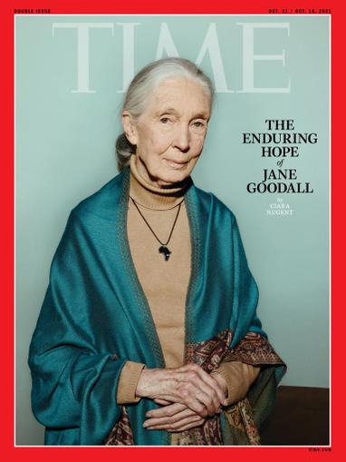 Time Magazine October 11th, 2021 Issue Cover