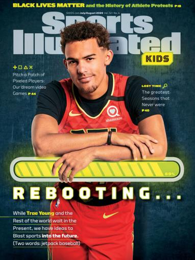 Sports Illustrated Kids Magazine July 1st, 2020 Issue Cover