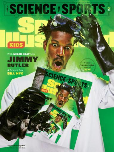 Sports Illustrated Kids Magazine January 1st, 2021 Issue Cover