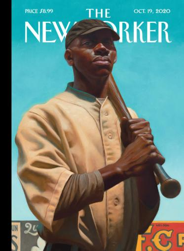 The New Yorker Magazine October 19th, 2020 Issue Cover