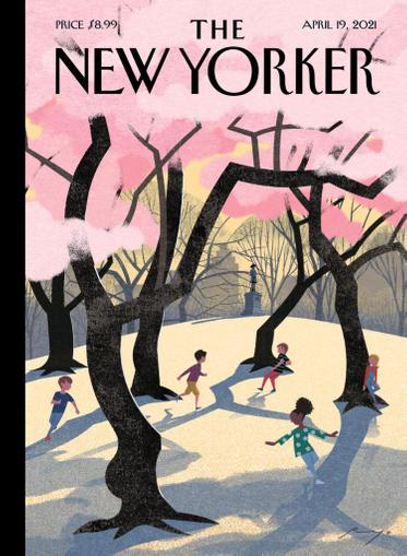 The New Yorker Magazine April 19th, 2021 Issue Cover