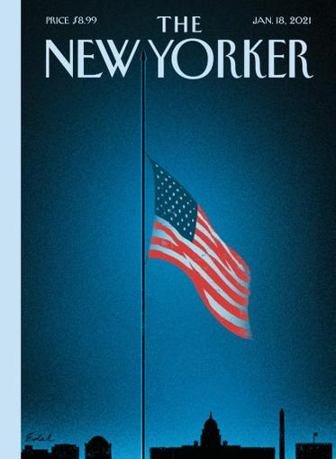 The New Yorker Magazine January 18th, 2021 Issue Cover