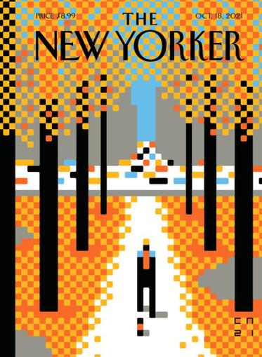 The New Yorker Magazine October 18th, 2021 Issue Cover