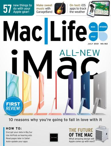 MacLife Magazine July 1st, 2021 Issue Cover