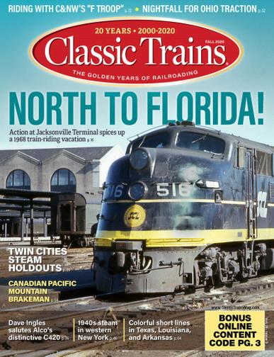 Classic Trains Magazine August 3rd, 2020 Issue Cover