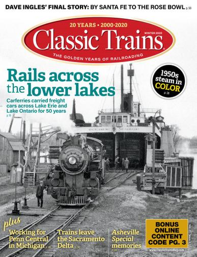 Classic Trains Magazine November 2nd, 2020 Issue Cover