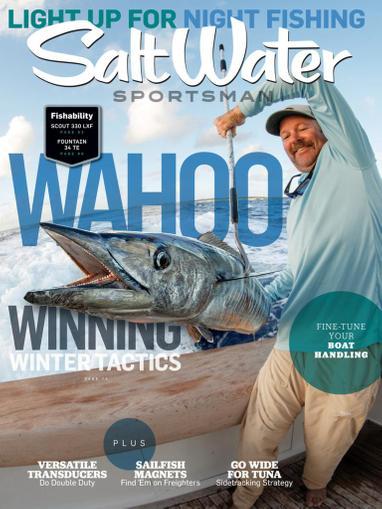 Salt Water Sportsman Magazine November 1st, 2020 Issue Cover