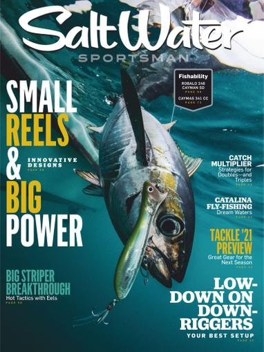 Salt Water Sportsman Magazine October 1st, 2020 Issue Cover