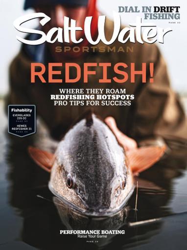 Salt Water Sportsman Magazine April 1st, 2021 Issue Cover