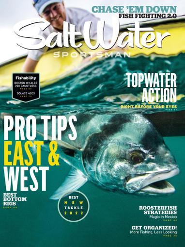 Salt Water Sportsman Magazine October 1st, 2021 Issue Cover