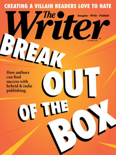 The Writer Magazine October 1st, 2020 Issue Cover