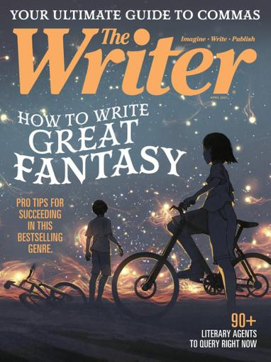 The Writer Magazine April 1st, 2021 Issue Cover