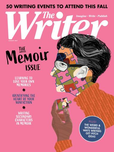 The Writer Magazine August 1st, 2021 Issue Cover