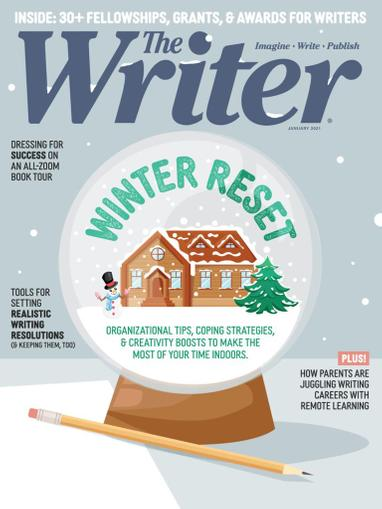 The Writer Magazine January 1st, 2021 Issue Cover